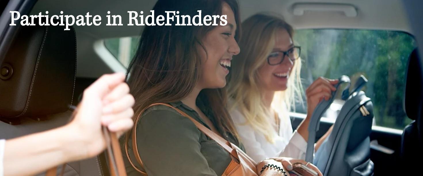 participate in ridefinders